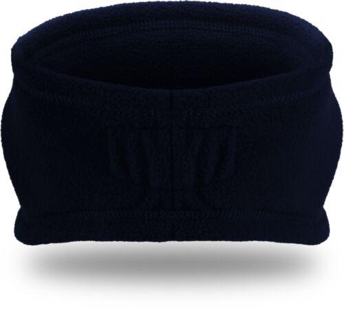 Weiches und dehnfähiges Fleece Stirnband mit elastischem Einsatz am Hinterkopf