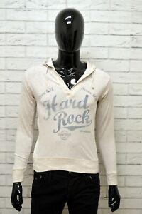 Felpa-HARD-ROCK-Uomo-Taglia-Size-XS-Maglia-Maglione-Pullover-Sweater-Man-Cotone