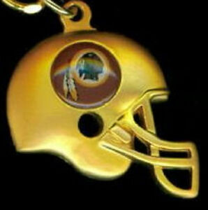 Washington redskins 3d gold helmet charm necklace nfl for Best place to sell gold jewelry in chicago