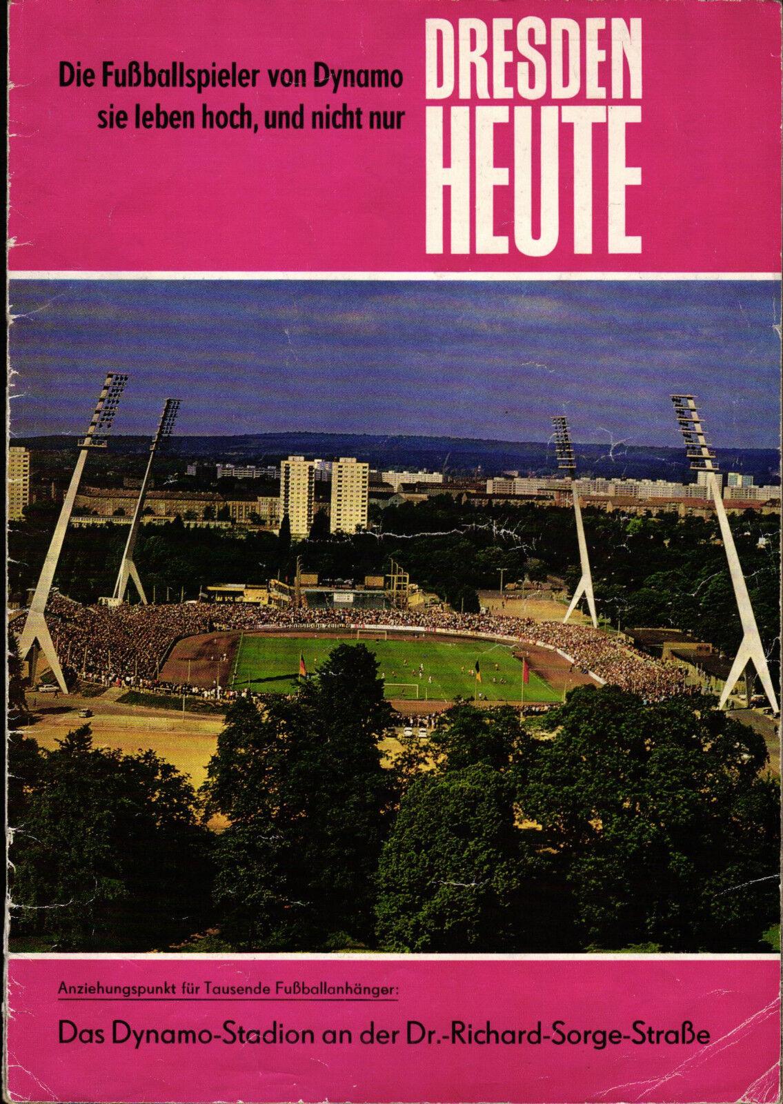 EC I 73 74 74 74 SG Dynamo Dresden - Juventus Turin, DRESDEN HEUTE 20dd67