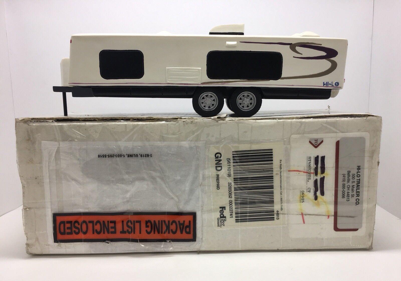Hi-Lo Trailer - Camper - Caravan - 50th Anniversary Model Resin Toy - 2007