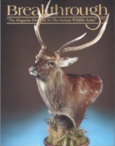 TAXIDERMYMODELLING BREAKTHROUGH MAGAZINE 127*