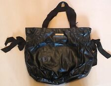 JUICY COUTURE TOTE BAG MIDNIGHT BLUE METTALIC LOOK RRP £109 NOW £39
