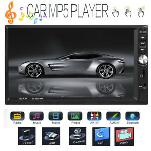 7-034-2DIN-Dual-Touch-Screen-per-auto-MP5-Player-BT-Stereo-FM-Radio-USB-telecomando