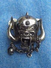 Motorhead pin badge heavy metal judas priest iron maiden