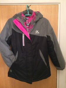 Girl-039-s-zeroXposur-3-in-1-System-All-Weather-Jacket-Grey-Black-Pink