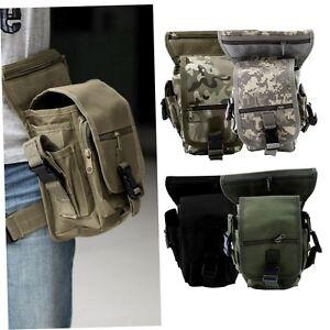 Outdoor-Tactical-Military-Drop-Leg-Bag-Panel-Utility-Waist-Belt-Pouch-Bag-LG