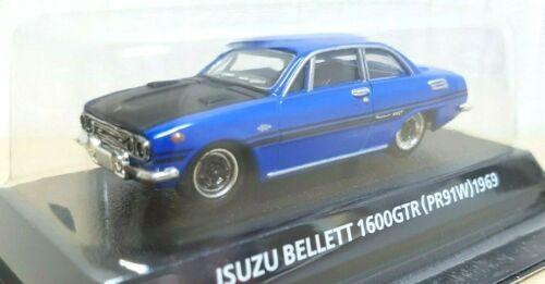 Details about  /1//64 Konami 1969 ISUZU BELLETT 1600GTR BLUE diecast car model
