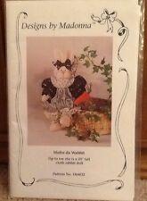"Designs by Madonna ""Mufee da Wabbit"" 20"" rabbit doll pattern, DbM32  new 1992"