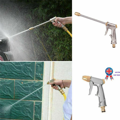 Hydro Jet High Pressure Power Washer Water Spray Gun Nozzle Wand Attachment UK