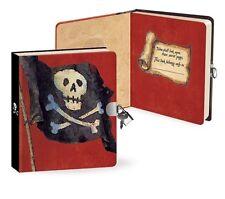 Pirate Secret Diary with Lock & 2 Keys