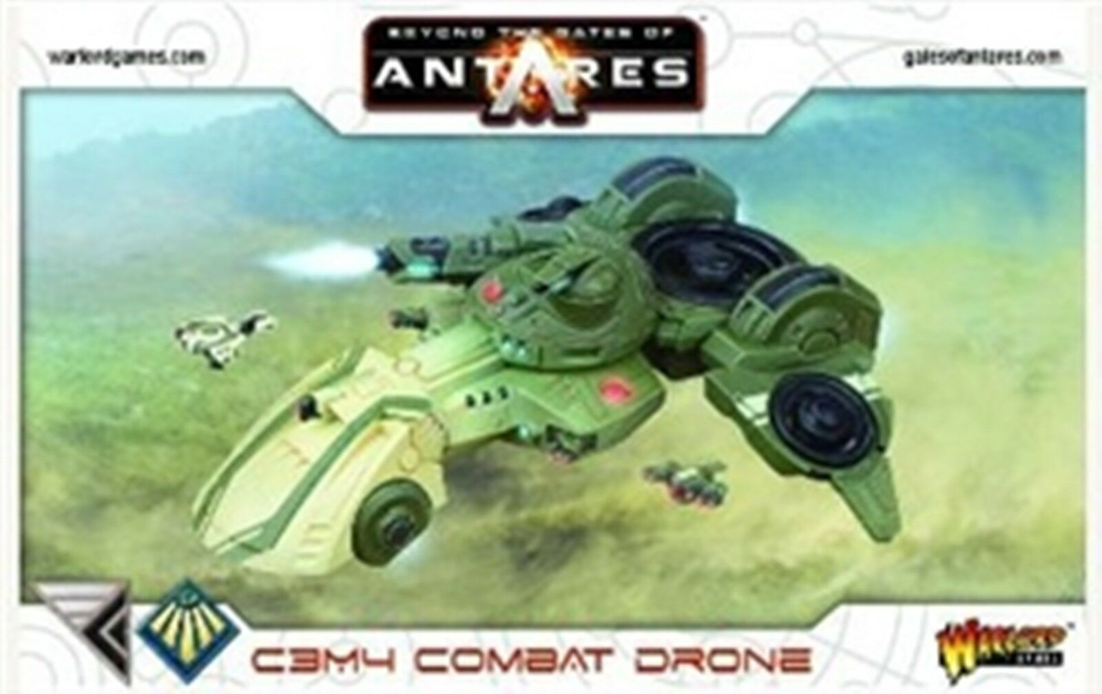 NEW GATES OF ANTARES CONCORD C3M4 COMBAT DRONE WARS GAMES FIGURES WGA-CON-07
