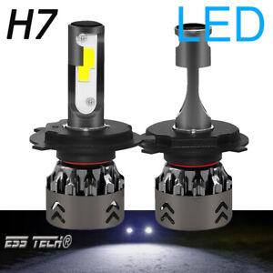 Ampoule-H7-LED-Blanc-8000K-COB-lampe-ESS-TECH-Mise-a-jour-feu-LED-Auto-Moto