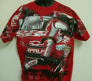 Tony stewart old spice office depot vf t shirt adult for Office depot shirt printing