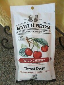 1 Bag Cough Throat Drops Smith Bros Brothers Honey Lemon 30 Drops  Exp 6//20