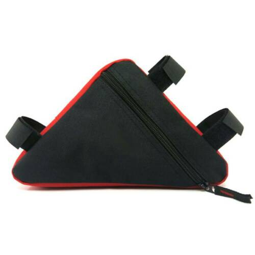 Cycling Road Bike MTB Bicycle Front Tube Storage Bag Pack Pouch Accessories