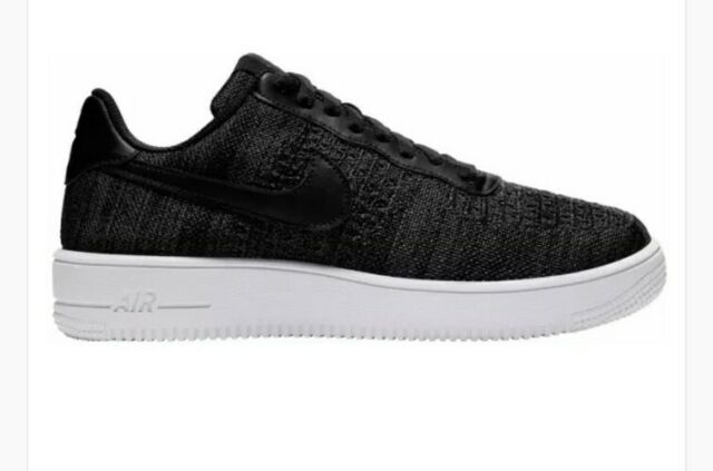 Size 13 - Nike Air Force 1 Flyknit 2.0 Black Anthracite for sale ...