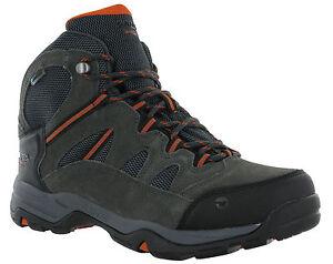 Hi-Tec-Waterproof-Bandera-II-Leather-Lace-Walking-Hiking-Trail-Mens-Boots-Wide