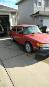 1989 Saab 900s for sale or parts