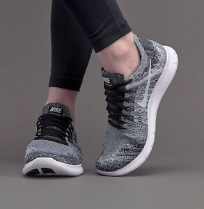 48ddd578451 WMNS Nike Free RN Flyknit 2017 Running Shoe Trainer 880844-003 UK7.5 ...