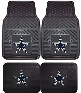 Dallas-Cowboys-Heavy-Duty-NFL-Floor-Mats-2-amp-4-pc-Sets-for-Cars-Trucks-amp-SUV-039-s