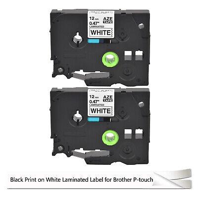 2PK TZ TZe-231 TZ-231 Black on White Tape For Brother PT300 PT320 GL-100 Printer