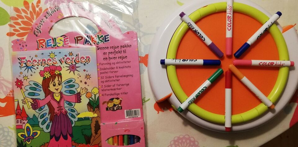 Tegne/male, Diverse kreative ting, Color Kids