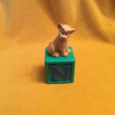 Grolier Alphabet Fun Blocks Figurine N is for Nimba Disney