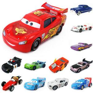 Guido-Pixar-Cars1-Cars-2-Dinoco-VS-McQueen-Metal-voiture-jouet-livraison-Rapide