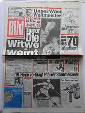 Bild Zeitung vom 8.2.1985, Wasmeier Weltmeister, Paul Breitner, Ottos 1. Film