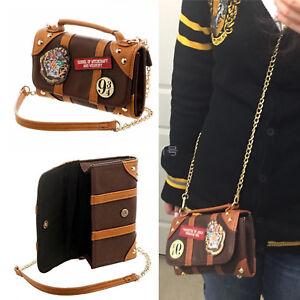 Harry Potter Ladies Messenger Bag PU School Badge Crossbody Purse Ideal Gift