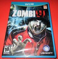 Zombiu Nintendo Wii U, 2012 Factory Sealed Free Shipping