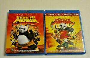 Kung Fu Panda Kung Fu Panda 2 Blu Rays Ebay