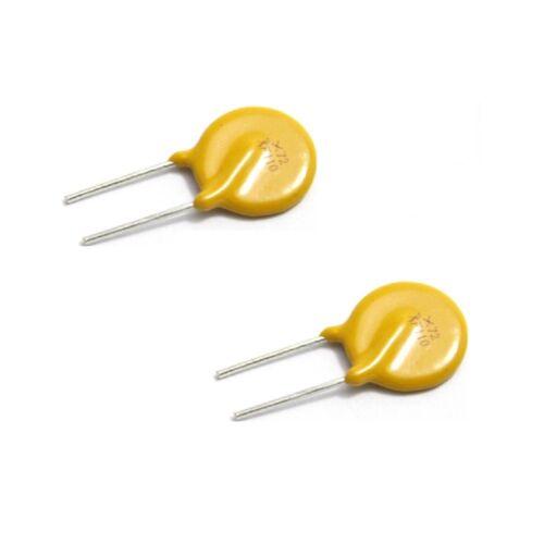 10 Piezas rxef110 1,1 a 72 V pptc PolySwitch Reseteables Fusible