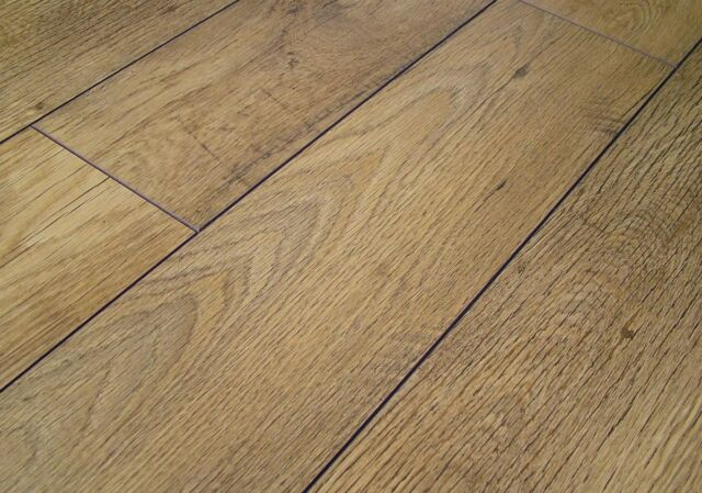 Sample Of Laminate Flooring Kaindl 4v Groove Rustic Country Oak