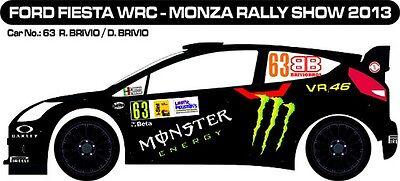 MONZA RALLY SHOW 2013 D43404 #5 CAPELLO DECALS 1//43 CITROËN DS3 WRC
