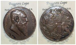 Medaille-Belgique-Leopold-II-Vitrival-1801ST-Pierre-Inaug-Drapeau
