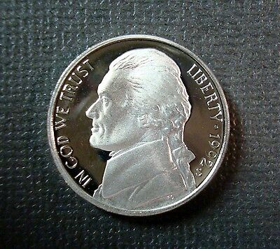 US Coin 1964 Jefferson Nickel ~ CAMEO GEM Proof Uncirculated ~ FROSTY
