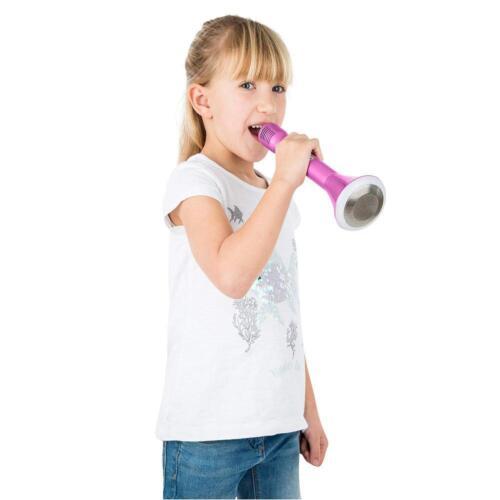 Mi-Mic Karaoke Microphone Speaker With Bluetooth And LED Light Black TY5899BK