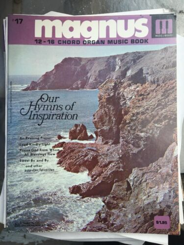 Magnus 12-16 Chord Organ Music book #17
