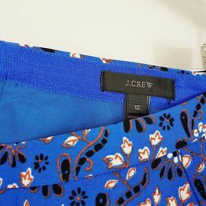 J-CREW-Womens-Scarf-Print-Skirt-Size-AU-16-or-US-12