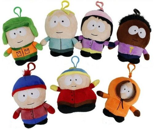 """5/"""" South Park Soft Bagclip 12cm Soft Touch Toy Gentle Plush Lovely Cute Toy Doll"""