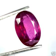 6.60 CT TRANSPARENT BURMESE MINES PINK RED RUBY Natural GIE Certified Gemstone