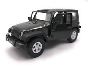 Modellino-Auto-Jeep-Wrangler-Rubicon-SUV-Nero-Auto-Scala-1-3-4