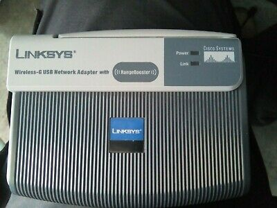 LINKSYS RANGEBOOSTER WUSB54GR DRIVERS FOR WINDOWS 7