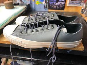 56074ccbe48 Converse CTAS OX Mason Driftwood Gray Leather SizeUS 12 Men 162387C ...