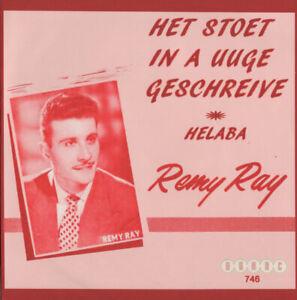 REMY-RAY-HET-STOET-IN-A-UUGE-GESCHREIVE-HELABA-ZELDZAAM-VLAAMS