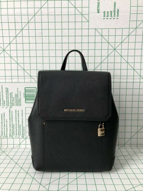 2814a2f9bb52 Michael Kors Hayes MD Leather Backpack in Luggage for sale online