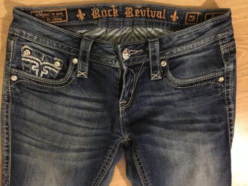 Sara femmes Rock taille pour Bootcut 26 Revival Jeans qUA4wzw
