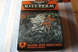 100% Vrai Games Workshop Warhammer 40k Killzone Death World Forest Entièrement Neuf Dans Sa Boîte Décor Playmat Gw-afficher Le Titre D'origine Acheter Maintenant